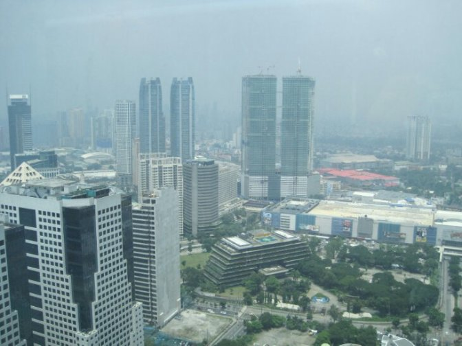 Saturday Morning on Top of Manila!