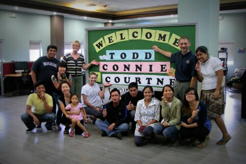 Arrived in Manila to an AWESOME welcome by the team!
