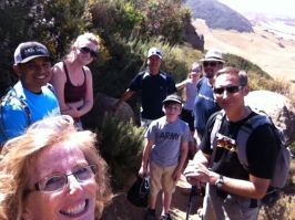 Hiking Bishop Mountain with the Dove Creek / Atascadero Church Family!