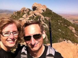 Todd and Connie Hiking