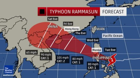 Typhoon Rammasun 1