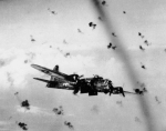 B-17 Bomber Picking up Flak