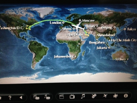 Flying the long way around the globe to get to the States...saves a lot of money...just a lot of time in the air.