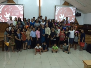 Chaozhou Church - A Great Service...Great Group!