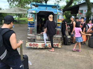 Jessie and Noortje were able to come and experience our jeepneys!