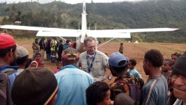 I had the opportunity to meet with residents of Ambuluwa, and ask about the impact of MAF. What does MAF mean to them?